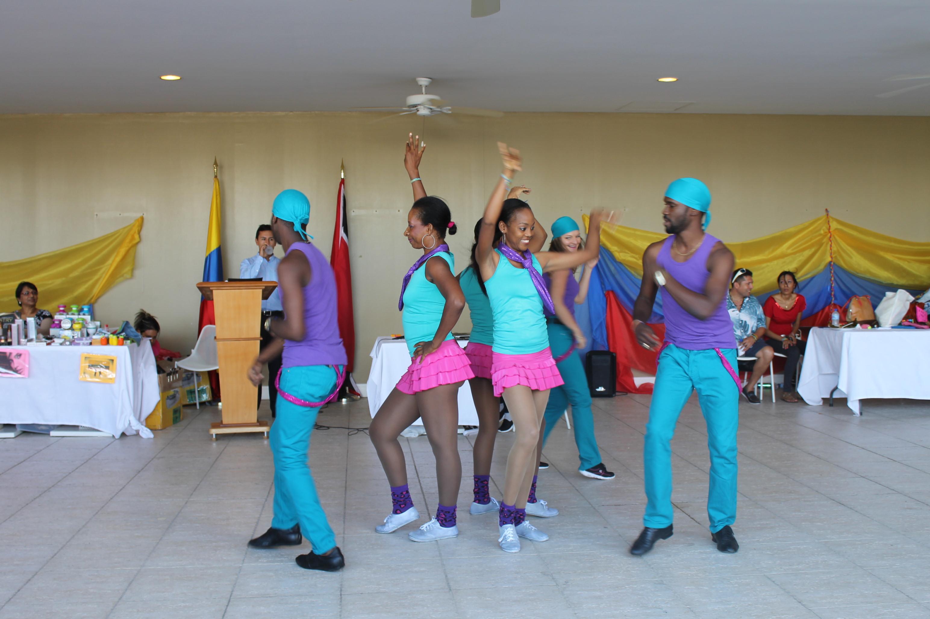 La Embajada de Colombia en Trinidad y Tobago conmemoró el 20 de julio junto a los connacionales