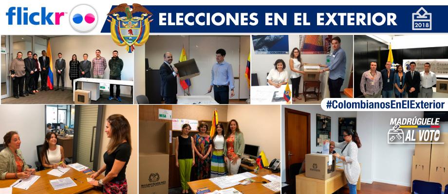 En imágenes: Elecciones en el exterior para Presidencia y Vicepresidencia 2018